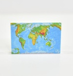 "Tile 2x3 ""World map"""