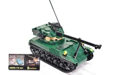 AMX-13 sm1 Light Tank Model built from Lego parts