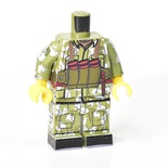 Afghan Soviet, berezka camo,Chest rig, boots, LEGO Legs and torso