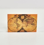 "Tile 2x3 ""Antique world map"""