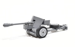 PAK 38 Anti-Tank Gun Model built from Lego parts