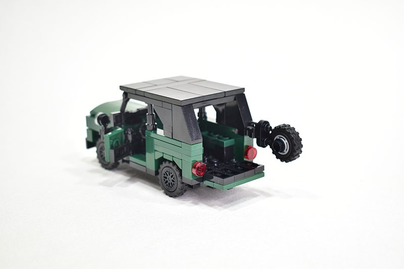 UAZ 469 off-road military light utility vehicle