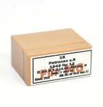 tile and brick 1 x 2 Medium nougat german ammo box for MG