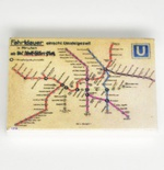 "Tile 2 x 3 ""Berlin metro map 1936"""