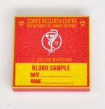 "Tile 2 x 2 ""Blood sample"""