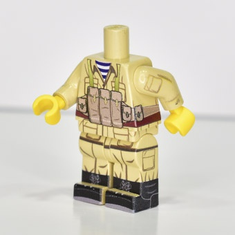 Afghan Soviet, tan, Chest rig, boots, LEGO Legs and torso