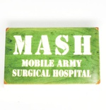"Tile 2 x 3 ""MASH mobile army surgical hospital"""