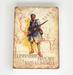 Tile 2 x 3  ww1 french poster