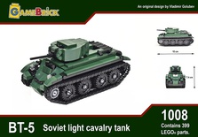 BT-5 Soviet Light Cavalry Tank