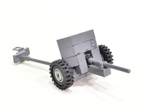Pak 36 German anti-tank gun  Model built from Lego parts