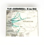"Tile 2 x 2  ""Plan Barbarossa"""