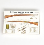 "Tile 2 x 3  ""Rifle K 98"""
