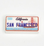 Tile 1 x 2  San Francisco sign