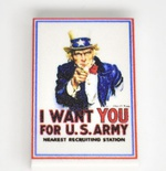 "Tile 2 x 3  ""I want You for U.S. Army"""
