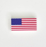 Tile 1x2 USA Flag