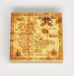 "Tile 2 x 2 ""Treasure map"""