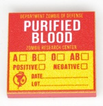 "Tile 2 x 2 ""PURIFIED BLOOD"""