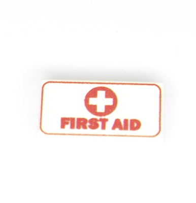 "Tile 1x2 ""First Aid"""